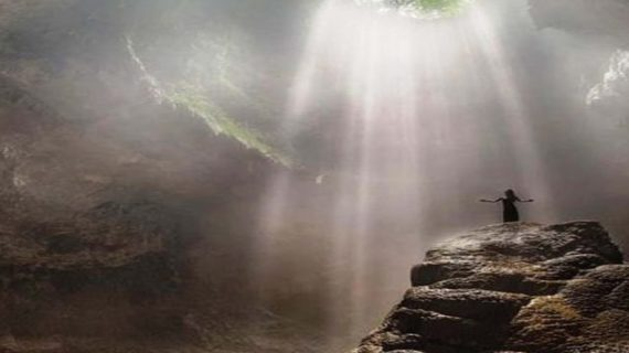 Looking for Light in Jomblang Cave